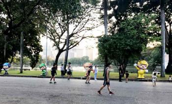 public parks in Bangkok